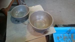 轆轤で作ったお茶碗